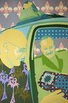 Das Glück des Beamtentums, 2001, 150 x 100 cm