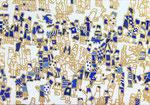 「螺旋群像図」2014  227×158   「」出品