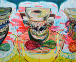 Sweet Sour Supper, 2015, 110 x 90 cm