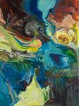 Ohne Titel (Topographica d´ell Arte), 2019, 80x60 cm
