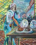 Brot von Picassos Tellern, 2014