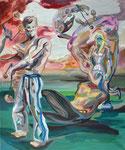 Waagemute, 2014, Acryl auf Leinwand, 60 x 50 cm