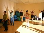 Schüler beim Qigong Training