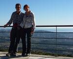 Heike und Helmut Jan.12 in Pinos (Benissa)