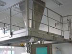 Edelstahl-Bedienbühnen Equipment