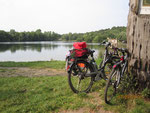 ... auf Fahrradtour am Hummelsee.