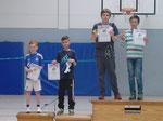 Vom Cronenberger BC haben in der Altersklasse U13 Noah Fleck und Antonio Sipic-Strunck bei den Doppelstadtmeisterschaften den 2. Platz belegt.