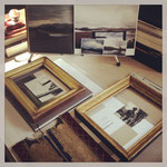 Old Frames from the Collection. Photograph © Eve Ashcraft