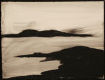 """Eve Ashcraft, Inlet, 2013, ink on paper  8"""" x 6"""""""