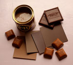 Chocolate palette. Photograph © Eve Ashcraft