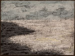 """Eve Ashcraft, White Sea, 2014, acrylic and pastel on paper  8"""" x 6"""""""