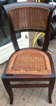 Deze stoel (ik had er 3 van)  stonden klaar om naar de stort te brengen.