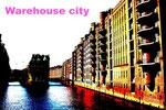 warehouse city(ドイツ・ハンブルグ)