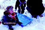 sledding(アメリカ・ニューヨーク)