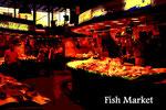 fish market(スペイン・バルセロナ)