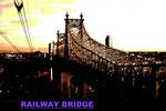railway bridge(アメリカ・ニューヨーク)