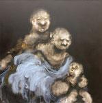 """"""" L'enfance d'Appolinaire """" - 150 x 150 cm"""