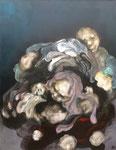 """"""" Le baiser de sa mère """" - 145 x 116 cm"""