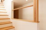 階段室 化粧柱