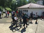 Erste Ladestation für e-Bikes, Pedelecs und Speed-Pedelecs in Osterbrücken bei St. Wendel