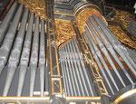 Orgelprospekt Abbrederis-Orgel Maienfeld