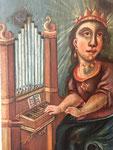 heilige Caecilia, Orgel Ardez