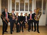 ev. Kirche Endersbach (DE), mit dem Gloria- Brass- Quintett