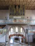 Georg Ludwig Mezler-Orgel (1806/ Orgelbau Rensch 1972), Laurentiuskirche Bitzfeld (DE)