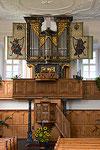 Abbrederis-Orgel, Amanduskirche Maienfeld
