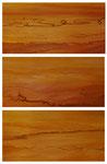 Les Songes, acrylique/toile, triptyque, 3 panneaux de 120x60 cm