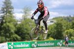 Vor Heimpublikum fliegt der Winterthurer David Graf zu seinem vierten SM-Titel bei der Elite nach 2013, 2014 und 2016. Bild: Michael Walch