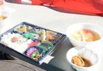 道央支部歴史上一番豪華な昼食でした。