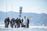 HWV-C03「御神渡御神事」-長野県-2017年撮影-