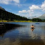 Höhentrainingslager Schweiz Juni 2017: Tapetenwechsel beim Aquajoggen