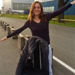Haspa Hamburg Marathon 2016: Anja startklar zum Abflug