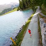 Höhentrainingslager Schweiz Juni 2017: Langer Dauerlauf in traumhafter Umgebung