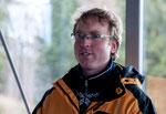 Organisator Pfarrer Christian Röhling