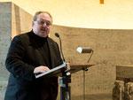 Begrüßung Pfarrer Matthias Leschhorn