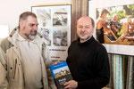 Vorstellung des Projektes Kirchenburgen in Rumänien Ralf Roth (links) und Dieter Lomb
