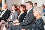 Prof. Dr. Ulrike Wagner-Rau (v.r.n.l),  Prof. Dr. Marcel Saß, Prof. Dr. Christl M. Maier, Dr. Regina Sommer, Propst Helmut Wöllenstein