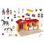 EI174 Paardenstal Playmobil