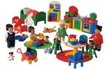 EI115 Dolls reuze set Duplo