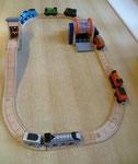 EI186 Houtzagerij Thomas de trein