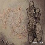 Love 2015, Mischtechnik, 20x20,  verkauft