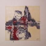 Smiley, Acrylglas, 70x70