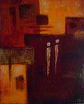 Afrika, 40x50, Privatbesitz, Acrylcollage