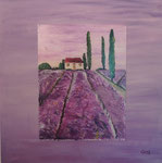 Provence, Acrylglas, Privatbesitz