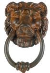 Art.2215/B Traditional Door Knocker in wrought iron