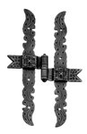 Wrought iron hinge art.1011