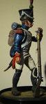 sculpted Dave Jarvis 90mm Tirailleur Grenadier Jeune Garde 1809
